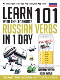 Omslag för 'Learn 101 Russian Verbs in 1 Day with the Learnbots - 1908869296'