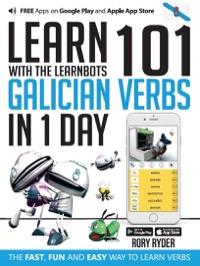 Omslag för 'Learn 101 Galician Verbs in 1 Day with the Learnbots - 1908869371'