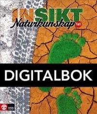 Insikt Naturkunskap 1a:1 Lärobok Digital - Kirsebom, Lisa
