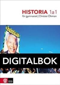 Historia 1a1 för gymnasiet Digital - Öhman, Christer