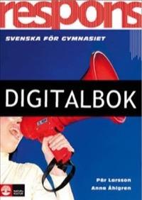Respons Grundbok Digital - Larsson, PärAsp (fd Åhlgren), Anna