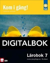 Kom i gång! 7 Lärobok Digital - Lyberg Mogensen, AnnikaWewel, Åse