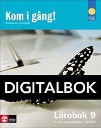 Kom i gång! 9 Lärobok Digital - Lyberg Mogensen, AnnikaWewel, Åse