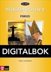 SOL 4000 Religion och liv 8 Fokus Elevbok Digital - Berg, LeifRundblom, Gunilla