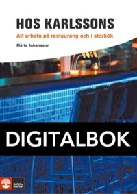 Framåt Hos Karlssons (Restaurang) Digital - Johansson, Märta