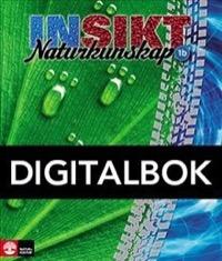 Insikt Naturkunskap 1b Lärobok Digital - Kirsebom, Lisa