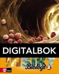 Insikt Biologi 2 Lärobok Digital - Brynhildsen, LenaBrändén, Henrik