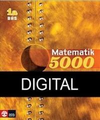 Matematik 5000 Kurs 1a Gul Lärobok Bas Digital - Alfredsson, LenaHeikne, HansErixon, Patrik