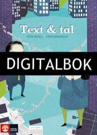 Text och tal Digital - Bexell, FridaGranholm, Erika