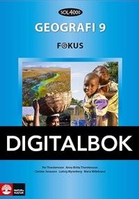 SOL 4000 Geografi 9 Fokus Elevbok Digital - Willebrand, MariaMyrenberg, LudvigThorstensson, PerThorstensson, Anna-BrittaJonasson, Christer
