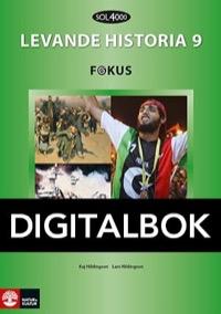 SOL 4000 Levande historia 9 Fokus Elevbok Digital - Hildingson, Kaj