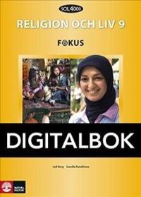 SOL 4000 Religion och liv 9 Fokus Elevbok Digital - Berg, LeifRundblom, Gunilla