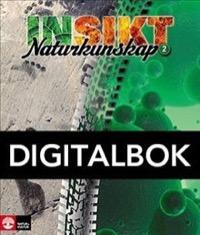 Insikt Naturkunskap 2 Lärobok Digital - Kirsebom, Lisa