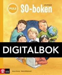 PULS SO-boken 1-3 Grundbok Interaktiv - Willebrand, MariaKörner, Göran