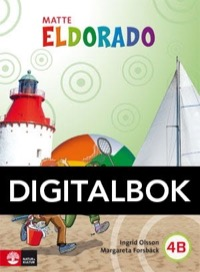 Eldorado, matte 4B Grundbok Digital - Olsson, IngridForsbäck, Margareta