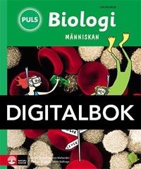 PULS Biologi 4-6 Människan Grundbok Interaktiv - Belfrage, BerthWallander, KerstinSkiöld, Gitten