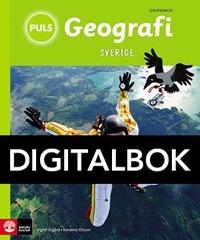 PULS Geografi 4-6 Sverige Grundbok Interaktiv - Olsson, KatarinaÅsgård, Ingrid