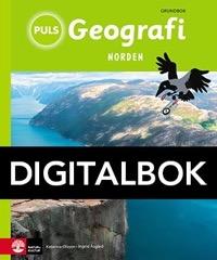 PULS Geografi 4-6 Norden Grundbok Interaktiv - Åsgård, IngridOlsson, Katarina