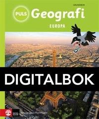 PULS Geografi 4-6 Europa Grundbok Interaktiv - Olsson, KatarinaÅsgård, Ingrid