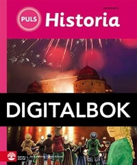 PULS Historia 4-6 Grundbok Interaktiv - Körner, GöranLindberg, Per