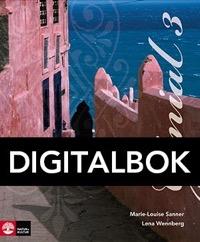 Genial 3 Allt-i-ett-bok Interaktiv - Sanner, Marie-LouiseWennberg Trolleberg, Lena