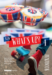Omslag för 'New What´s up 4 Textbook - 523-4098-1'
