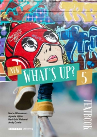 Omslag för 'New What´s up 5 Textbook - 523-5295-3'