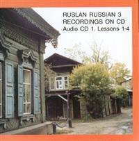 Ruslan 3 ljud-cd pack, komplett med 3 st ljud-cd