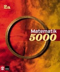 Matematik 5000 Kurs 2a Röd och Gul Lärobok