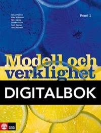 Modell och verklighet Kemi 1 Lärobok 2:a upp Digital