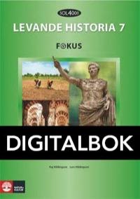 SOL 4000 Levande historia 7 Fokus Elevbok Digital