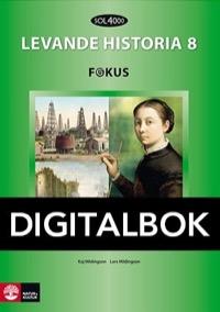 SOL 4000 Levande historia 8 Fokus Elevbok Digital