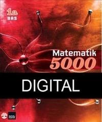 Matematik 5000 Kurs 1a Röd Lärobok Bas Digital