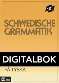 Mål Svensk grammatik på tyska Digital, utan ljud