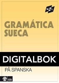 Mål Svensk grammatik på spanska Digital, utan ljud