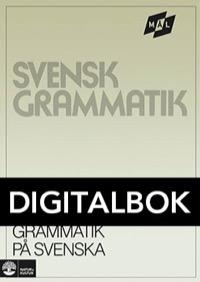 Mål Svensk grammatik på svenska Digital, utan ljud