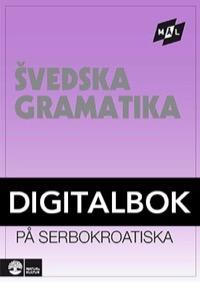 Mål Svensk grammatik på serbokroatiska Digital, utan ljud