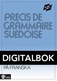 Mål Svensk grammatik på franska Digital, utan ljud