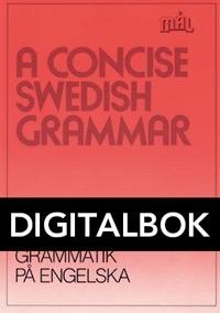 Mål Svensk grammatik på engelska Digital, utan ljud