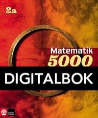 Matematik 5000 Kurs 2a Röd och Gul Lärobok Interaktiv