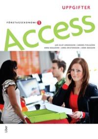 Access Företagsekonomi 1 Uppgiftsbok med CD