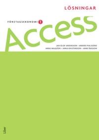 Access Företagsekonomi 1 Lösningar