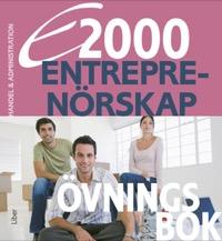 E2000 Entreprenörskap Övningsbok Handel och Administrations progr