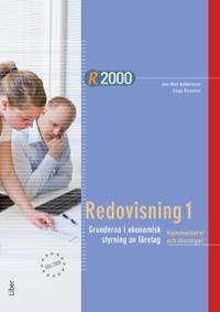 R2000 Redovisning 1- Kommentarer och lösningar