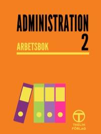 Administration 2 - Arbetsbok