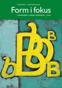 Form i fokus B övningsbok