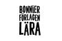 Logga - utställare Bonnierförlagen Lära